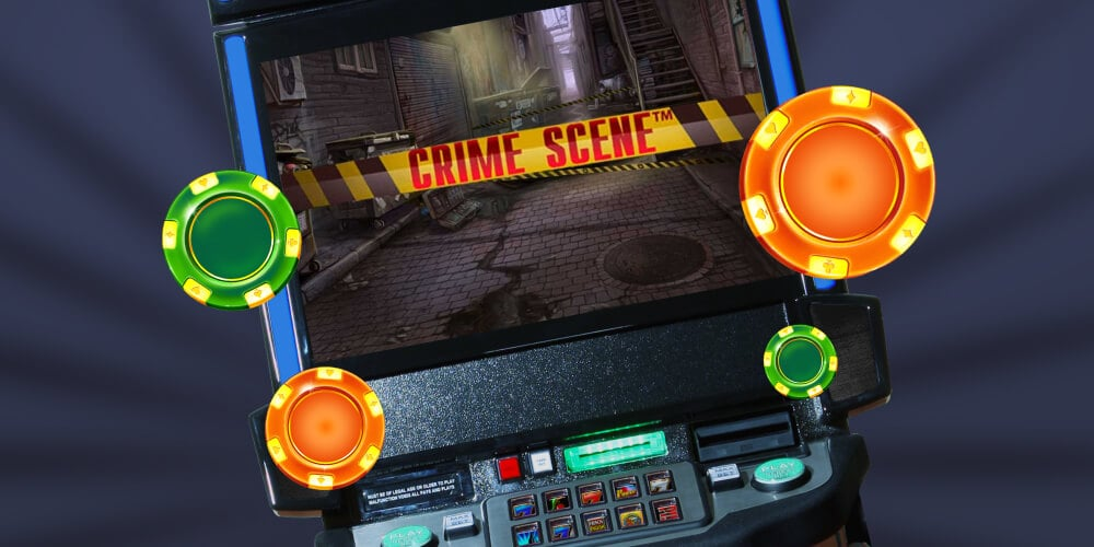 Игровой аппарат Crime Scene